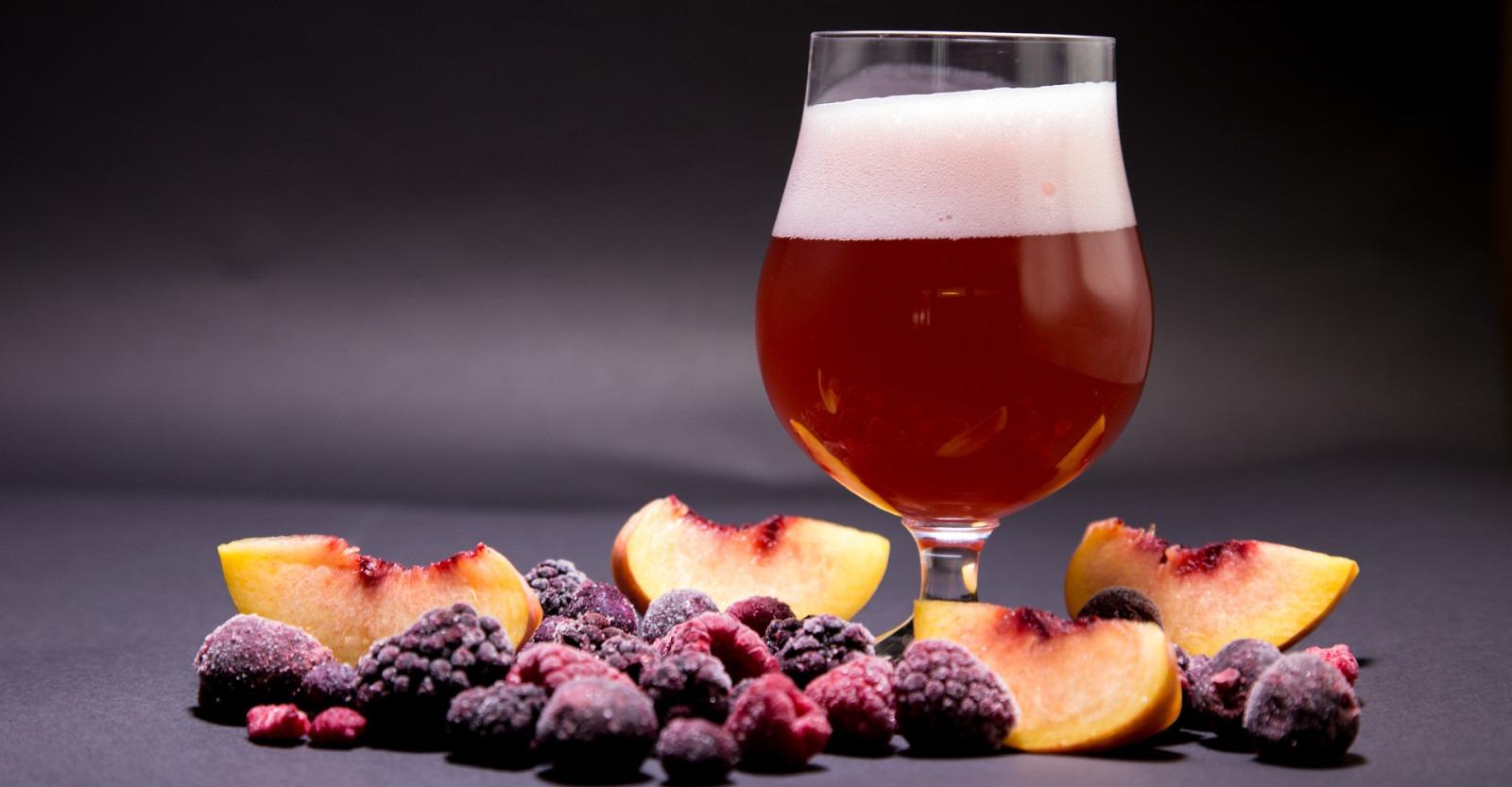 fruit beer bière aux fruits
