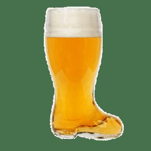 Bottes à bière en verre