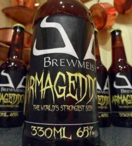 bière la plus forte Brewmeister Armageddon