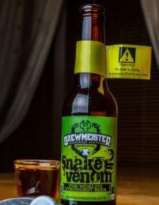 bière la plus forte Brewmeister Snake Venom
