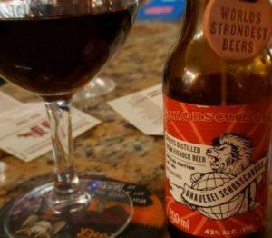 bière la plus forte Schorschbrau Schorschbock 43