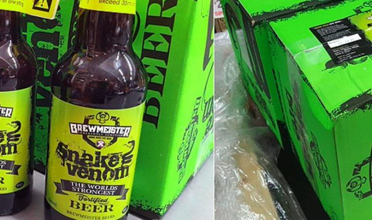 Snake venom, bière la plus forte du monde